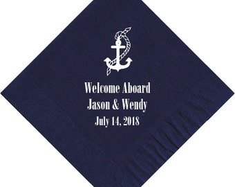 Beverage Napkins~100 Nautical Choose Your Design