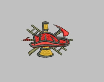 GG1223  Fireman Hat and Tools
