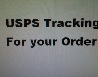 USPS Tracking for your Decal Order