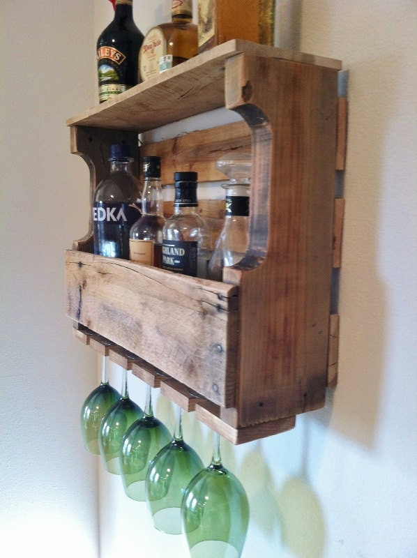 Extra Wide Harbor Cove Rustic Wine Rack 24 Stain Colors