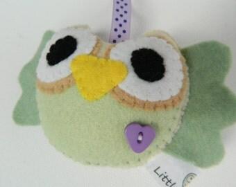 Cute Hanging Felt Little Owl Home Decoration