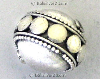 Sterling ,Silver, Bali ,Handcrafted,specialty beads ,925 silver