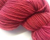 Becca's Heart of Gold(Apollo- High twist BFL/Nylon 80/20) Red