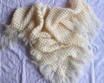 Custom Hand Knitted Shawl
