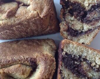 Organic Cinnamon Buns / Gluten Free / Low Carb / Paleo Friendly / Wheat Free