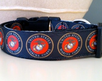 Dog Collar- Marines