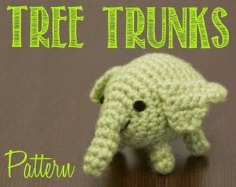 Tree Trunks (Adventure Time) Amigurumi Crochet Pattern