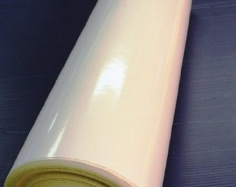 """Reflective White Peel and Stick Vinyl - 24"""" x 10' Roll."""