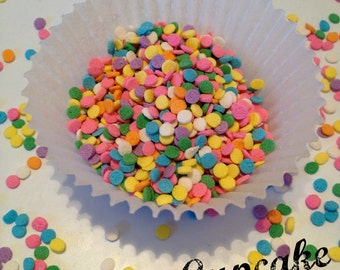 Pastel Sequined Shaped Sprinkles