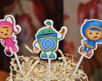 Umizoomi Cupcake Toppers Set of 12