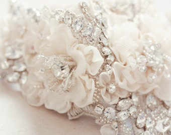 Wedding dress belt - Roma 17 inches (made to order), bridal sashes and belts