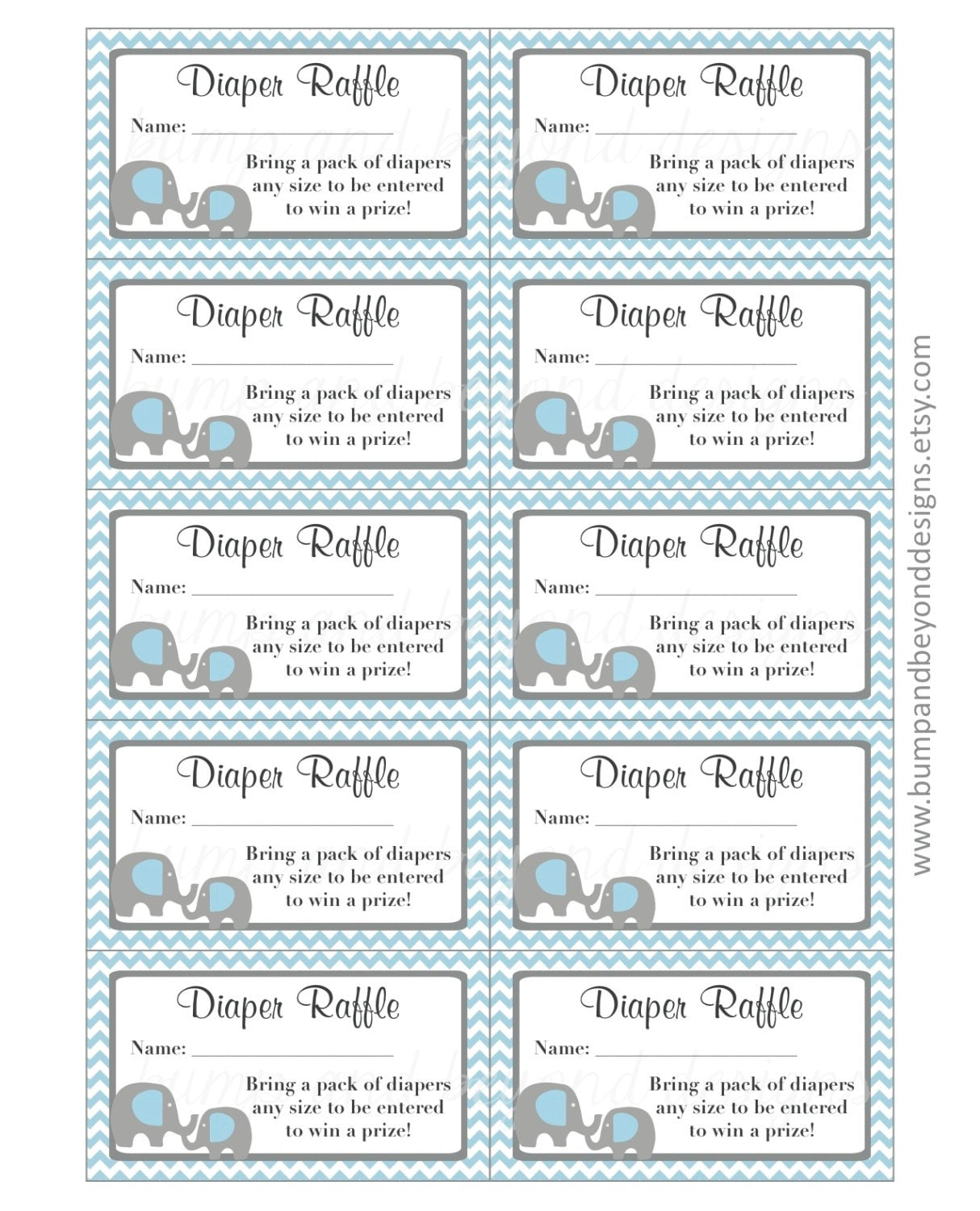 Juicy image throughout diaper raffle free printable