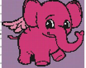 Baby Elephant Blanket Pattern