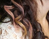 Peach Hair Chalk - Hair Chalking Pastels - Temporary Hair Color - Salon Grade - 1 Large Stick