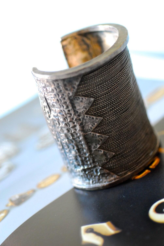 Riservato per r. antico bracciale alto argento di siouxsalvage