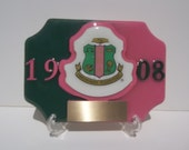 Alpha Kappa Alpha Spirit  trophy desk trophy with FREE engraving and shipping