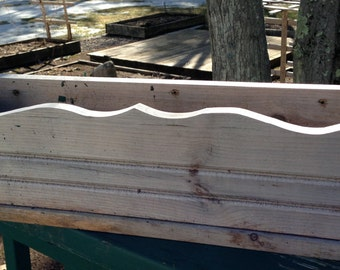 Reclaimed Wood Outdoor Planter Box