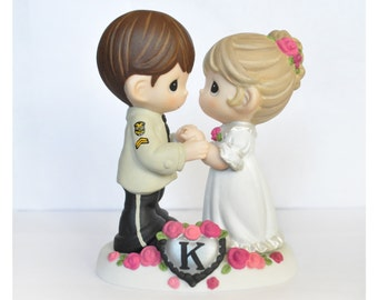 precious moments police wedding cake topper custom painted cake topper precious moments 18712