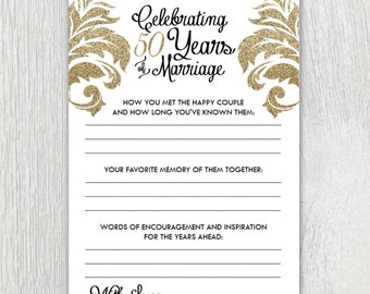 Printable anniversary party sheets - Damask - 50th anniversary - Golden anniversary - Customizable