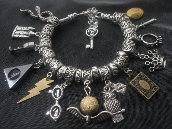 Horcrux Charm Bracelet Wizard Magical Charm Bracelet