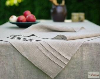 Linen Table Runner 100 % Natural Elegant