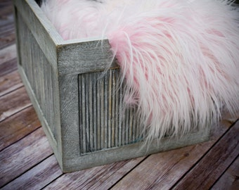 Cotton Candy Extra Long Faux Fur, Newborn Photography Props, Mongolian Fur, Long Faux Fur, Props for Babies, Newborn Photo Props, Fur Fabric