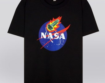 Fifth Sun Nasa Logo TShirt  Amazoncom