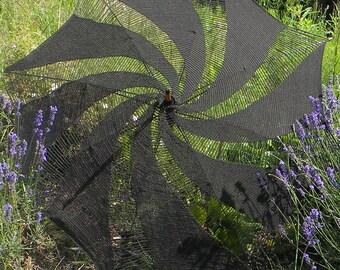 parasol, sun umbrella  crochet pattern