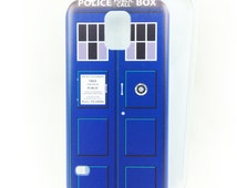 Tardis case for Samsung Galaxy S4/S5 phone - Doctor Who, The Doctor Time Machine
