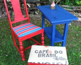 Smoking Table and Chairs Set