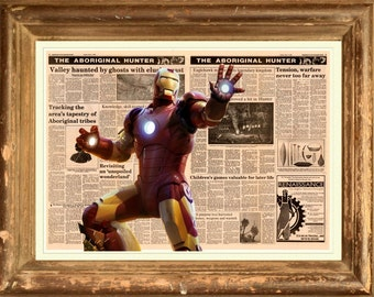 Iron Man Poster Print wall art  HH10951 S15