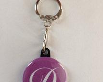 Custom Letter Name Keychain Handmade Keychain, Letter Keychains, Name Keychains, Customizable Keychain,