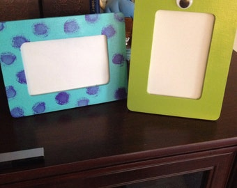 Monsters inc Picture Frame Set