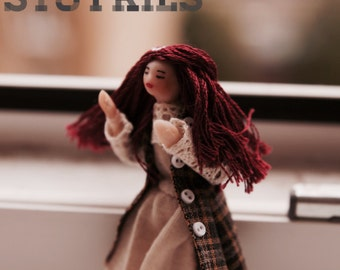 Wind catcher half scale doll miniature personalized collectible half inch 1:24