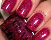 Crysta Full Size Handmixed Glitter Indie Nail Polish from the A Touch of Magic Trio