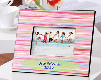 Water Colors Frame - Personalized Frame - Personalized Bridesmaid Frame - Bridesmaids Gift (993)
