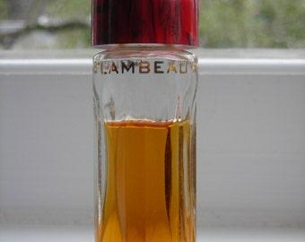 Faberge Flambeau eau de cologne 0.5 oz. bottle, 65-70% full