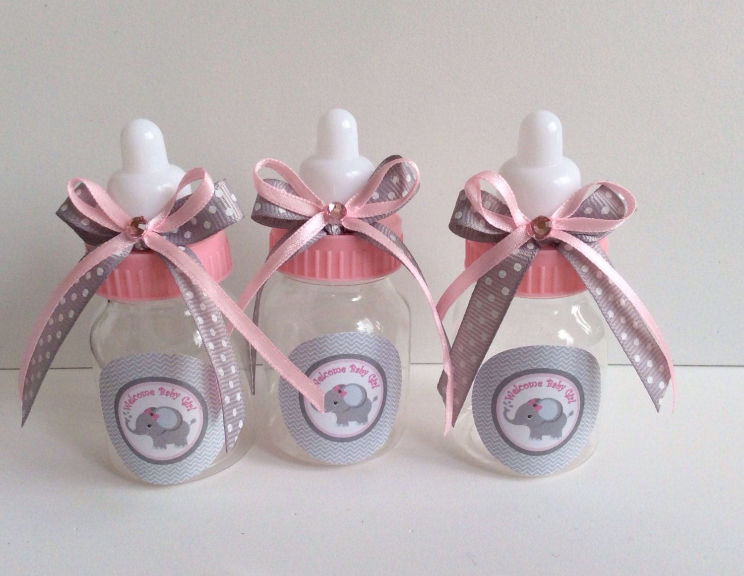 12 small 3 5 baby elephant girl baby shower favors
