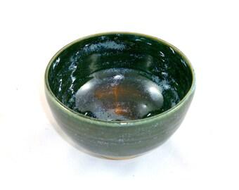 Porridge bowl in green