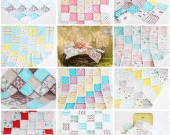 Reversible Rag Quilt Pattern PDF