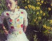 SALE-20% Embroidered folk vest