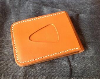 Leather Wallet Indy Order (Orange)