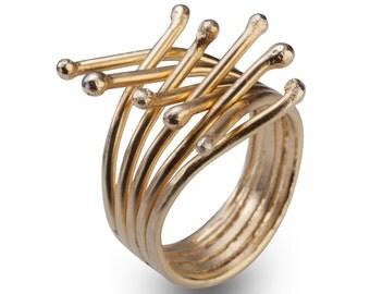 Adjustable Ring -  Adjustable Nature Ring -  Adjustable Branch Ring -  Adjustable gold Ring