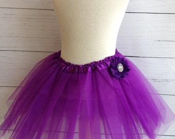 Purple Girls Tutu Set
