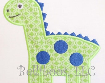 Dinosaur Applique Design - Dinosaur Embroidery Design - Dino Applique Design - Dinio Embroidery Design - Boy Applique Design