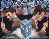 Doctor Who ART PRINT...