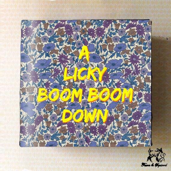 Licky boom down lyrics