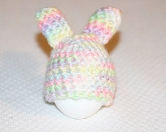 Easter Bunny Egg Cozy, Rabbit Egg Hat, Easter Decorations, Egg Warmer, Hostess Gifts, Holiday Presents, Party Decor