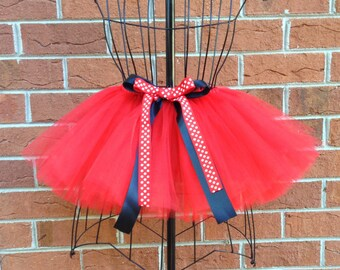 Melanie Tutu - Red Tutu - Available in Infant, Toddlers, Girls, Teenager and Adult Sizes