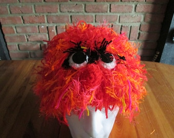 Animal muppet hat. Prices vary, please see full listing for details.